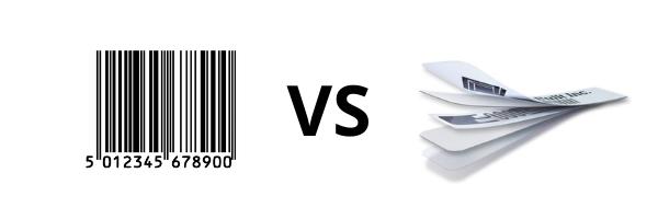 Barcodes VS RFID Image
